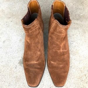 Cool suede brown boots